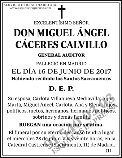 Miguel Ángel Cáceres Calvillo